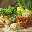 Stock Photo: Various vegetables