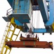 Stock Photo: Crane loading