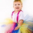 Stock Photo: Tutu Baby Girl