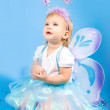 Beautiful girl  fairy — Stock Photo