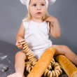 Royalty-Free Stock Photo: Baby chef