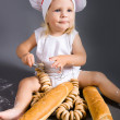 Baby chef — Stock Photo