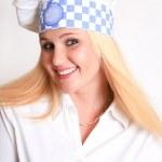 Female Chef — Stock Photo #8774713