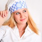 Female Chef — Stock Photo #8774723