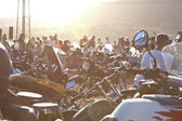 Show de moto de moto internacional xiv — Foto Stock