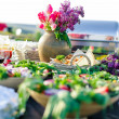 eten catering — Stockfoto