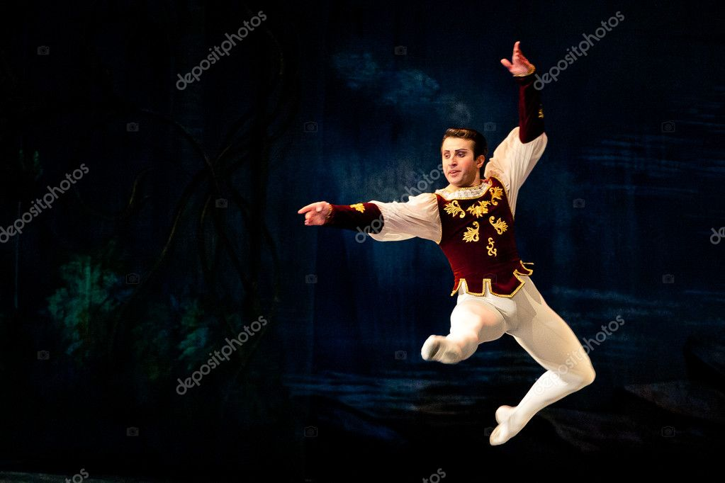 Tour of Classical Grand Ballet - Stars of the St. Petersburg Ballet Theatre. — Stock Photo #10572704