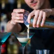 Barmen mixes cocktail — Stock Photo #10693441