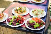 Fruit in bowl — Stock Photo