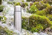 Thermos travel flask — Stock Photo