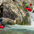 Extreme kayaking — Stock Photo #9819741