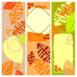 Autumn banners — Stock Vector