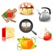Food set — Stock Vector