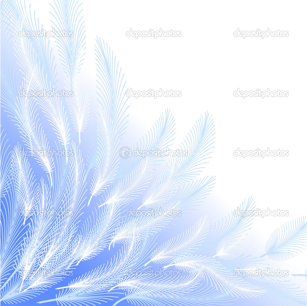 Feathers vector background — Stock Vector #10487536