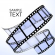 Film strip - Stockvectorbeeld
