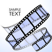 Film strip — Vector de stock