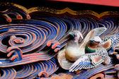 резные птица — Стоковое фото