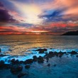 Stock Photo: Ocean sunset