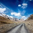Stock Photo: Road in Himalayas