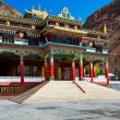 Buddhist monastery in Kaza, Spiti Valley — Stock Photo