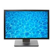 Flat screen HDTV TV — Stock Photo