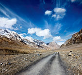 Road in Himalayas — Stock Photo