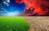 αλλαγή του κλίματος — Φωτογραφία Αρχείου