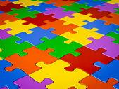 Jigsaw puzzle — Foto de Stock