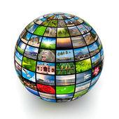 Foto globe — Stockfoto