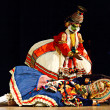 Kathakali is a famous dance-drama of south indian state of Keral - Foto de Stock