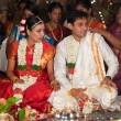 CHENNAI, INDIA - AUGUST 29: Indian (Tamil) Traditional Wedding C — Stock Photo