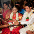 CHENNAI, INDIA - AUGUST 29: Indian (Tamil) Traditional Wedding C - Lizenzfreies Foto