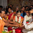 CHENNAI, INDIA - AUGUST 29: Indian (Tamil) Traditional Wedding C — Zdjęcie stockowe