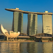 Marina Bay Sands hotel and casino, Singapore - Stok fotoğraf
