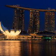 Marina Bay Sands hotel and casino, Singapore — Stock Photo