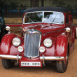 Stock Photo: CHENNAI - INDI- JULY 24: Ryley (retro vintage car) on Heritage