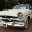 Stock Photo: CHENNAI - INDI- JULY 24: Plymouth Savoy Sed1956 (retro vint