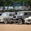Stock Photo: CHENNAI - INDI- JULY 24: Vauxhall Velox 1951, Dodge 1931 and