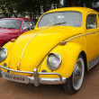 Stock Photo: CHENNAI - INDI- JULY 24: Volkswagen (retro vintage car) on Her