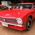 CHENNAI - INDIA - JULY 24: Ford Maverick (retro vintage car) on — Stock Photo #9215579