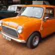 Stock Photo: CHENNAI - INDI- JULY 24: Cooper Mini (retro vintage car) on He