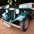 CHENNAI - INDIA - JULY 24: MG (retro vintage car) on Heritage Ca — Stock Photo