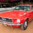CHENNAI - INDIA - JULY 24: Ford Mustang (retro vintage car) on H — Foto de Stock
