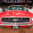 CHENNAI - INDIA - JULY 24: Ford Mustang (retro vintage car) on H — Stock Photo