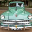 Stock Photo: CHENNAI - INDI- JULY 24: Chrysler (retro vintage car) on Herit