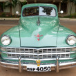 Постер, плакат: CHENNAI INDIA JULY 24: Chrysler retro vintage car on Herit