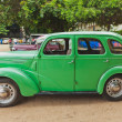 Stock Photo: CHENNAI - INDI- JULY 24: Ford Prefect 1952 (retro vintage car)