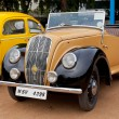 "CHENNAI - INDIA - JULY 24: Morris ""E"" Tourer 1946 (retro vintage - Stock Photo"