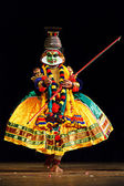 Kathakali is a famous dance-drama of south indian state of Keral — Stock Photo