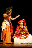 Danse kathakali. bhava blanchard festival. septembre 2009. cissokho — Photo
